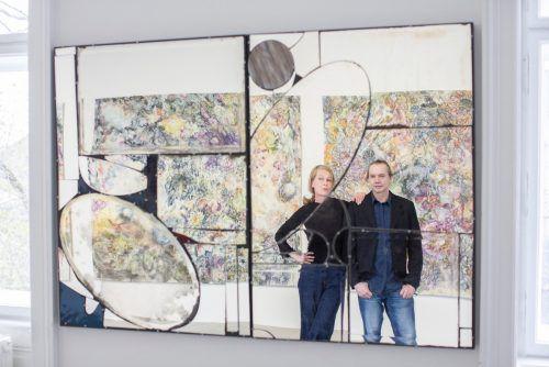 Karin Pliem stammt aus Salzburg und Harald Grünauer ist Dornbirner. Bildrecht/petra Rainer