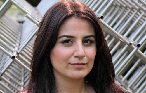Karosh Taha stammt aus dem Irak und lebt im Ruhrgebiet. Havin Al-Sindy