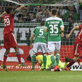 Bayern gewinnen einpackendes Pokalspiel