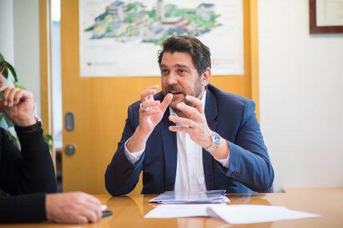 """Köhlmeier ist überzeugt: """"Bevor wir über regionale Wohnungsvergabe reden, muss man mehr regionales Wohnungsangebot schaffen."""" VN/Steurer"""