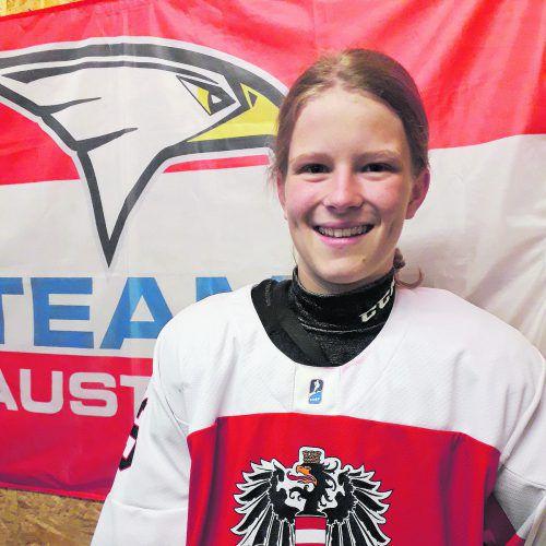 Leonie Kutzer ist mit dem österreichischen U-16-Nationalteam erfolgreich.netzer