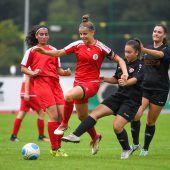 Konzentration auf eine Ligaim Frauenfußball