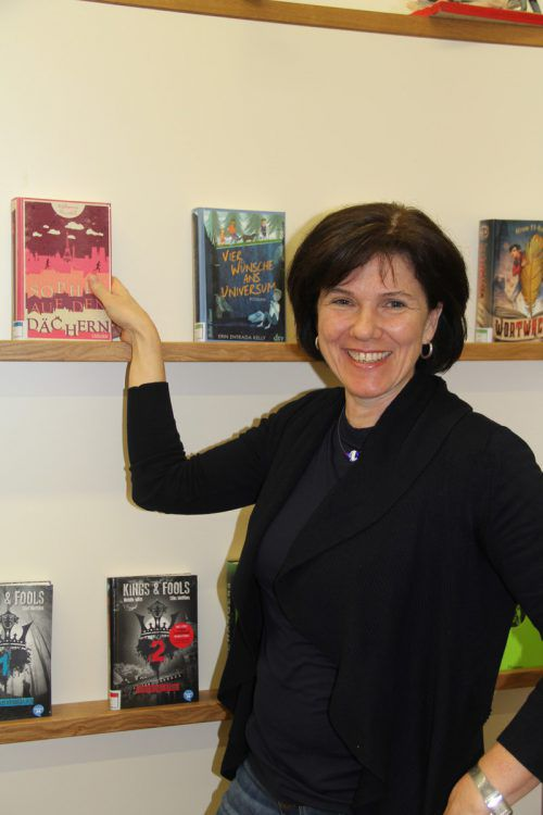 Lesen ist für Karoline Bertle etwas ganz Wichtiges. k. Stemer