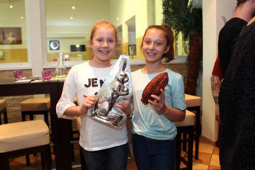 Louisa und Joselin sind jedenfalls schon absolute Schokofans und haben viel über Schokolade dazugelernt. BIN