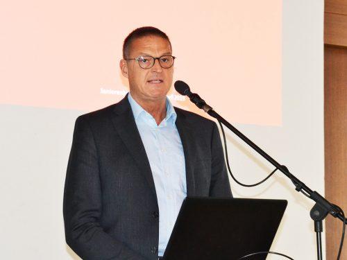 LR Dr. Christian Berhard informierte über Palliativmedizin und Hospitz. sb50+