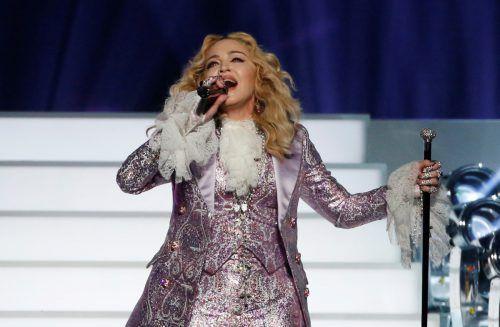 Madonna wird beim Finale des Reuters