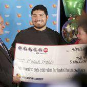 24-Jähriger knackt 768-Millionen-Dollar-Jackpot