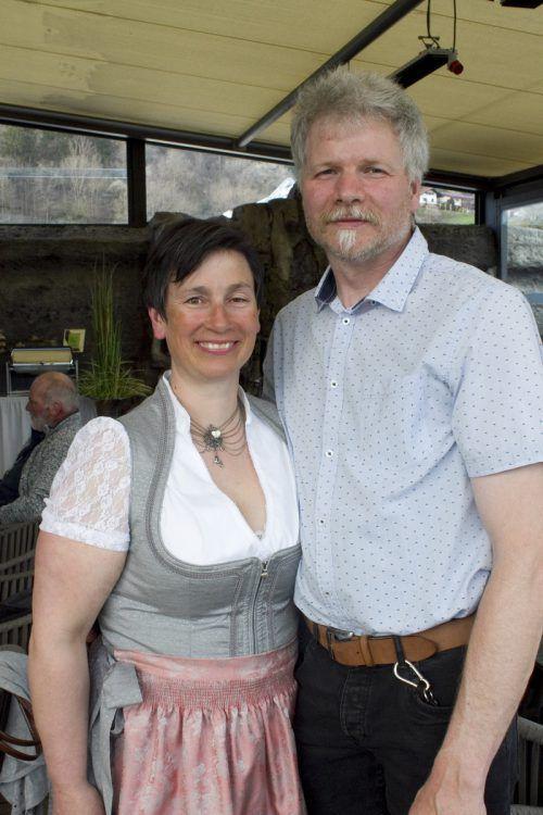 Manuela und Gerold Winsauer waren mit dabei.