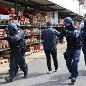 Spektakulärer Polizeieinsatz in Meiningen