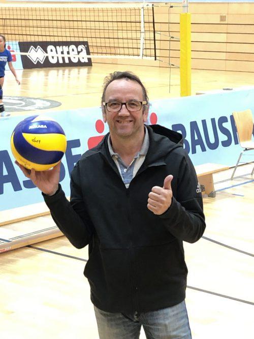 Markus Schelling ist OK-Chef beim Bundesfinale der Volleyball-Schülerliga. jd