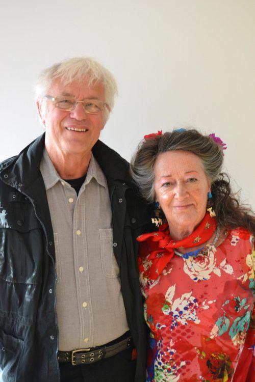 Matthias Baumgartner und Helga Färber-Eittrich. BI