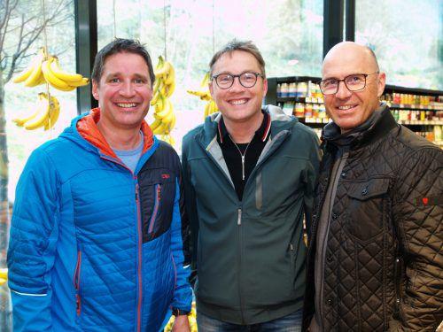 Matthias Bell, Ralf Greiner und Edgar Gopp (Plastischer Chirurg).