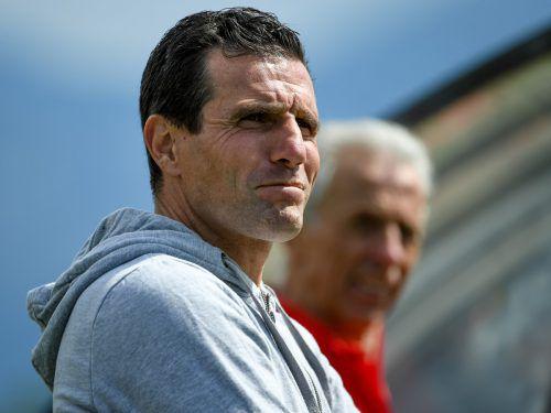 Michael Baur kehrt im Sommer auf die Trainerbank zurück. VN-Lerch