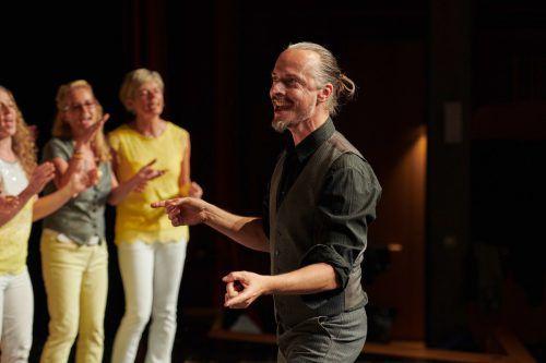 Michael Percinlic und sein Gospelchor Singring feiern 20-jähriges Jubiläum. privat