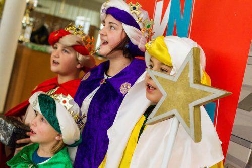 Mit Begeisterung trugen die vielen Sternsinger die Botschaft von der Geburt Christi in die Haushalte der Vorarlberger Bevölkerung.vn