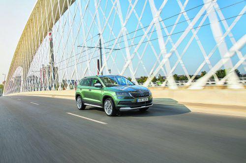 """Mit dem Karoq hat Škoda die SUV-Offensive fortgesetzt. Analog zu Octaviaund Kodiaq ist der kompakte Tscheche in einer """"Scout""""-Version zu haben."""