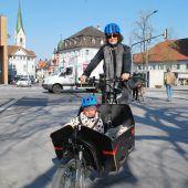 Mit dem Transportrad durch die City