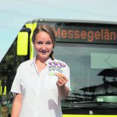 Mit öffentlichen Verkehrsmitteln gratis zur SCHAU! fahren