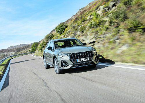 """Mit der leichten Pummeligkeit des Vorgängers ist es im neuen Audi Q3vorbei. Dem """"Single""""Frame-Kühlergrill wurden neue Kanten verpasst."""
