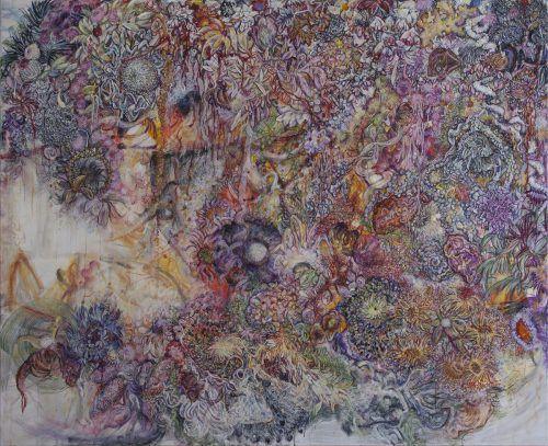 Mit der Präsentation floraler Bildwelten von Karin Pliem sowie techno-, bio- und bisweilen anthropomorphen Figu-rationen von Harald Grünauer startet der Bildraum Bodensee in den Ausstellungsfrühling.karin pliem/Bildrecht