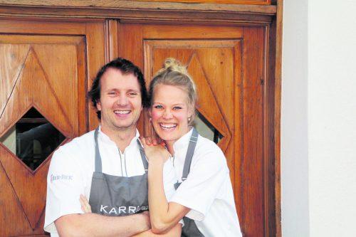 Mit viel Engagement leiten Tanja und Julian Karr ihr Restaurant.KARRisma