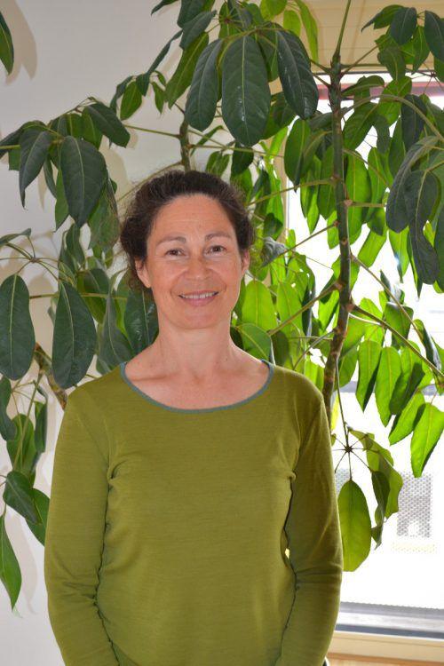Monika Muther macht Führungen in die Natur. BI