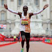 Neuer Streckenrekord bei London-Marathon