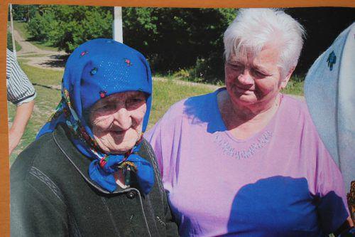 Nach über 70 Jahren fand Maria Frick ihre inzwischen 92-jährige Mutter Ulijana Ribka und besuchte sie in der Ukraine. Privat