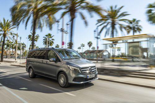 Neu in der upgedateten Mercedes V-Klasse sind 2-l-Diesel mit 163 bis 239 PS und Neungang-Automatik. Werk