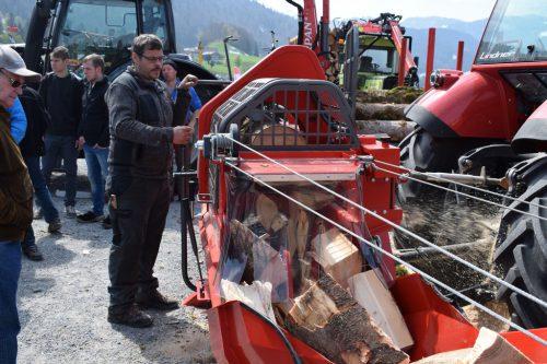 Neueste Technologien kommen beim Bregenzerwälder Forsttag zum Einsatz. ME