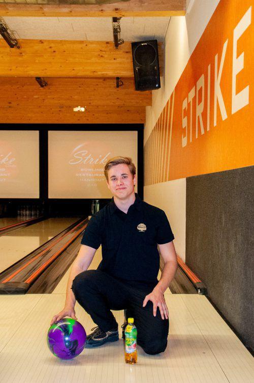 Noah Wilfinger wurde für die Jugend- und die Elite-EM im Bowling nominiert.Privat