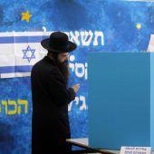 Schicksalswahl in Israel