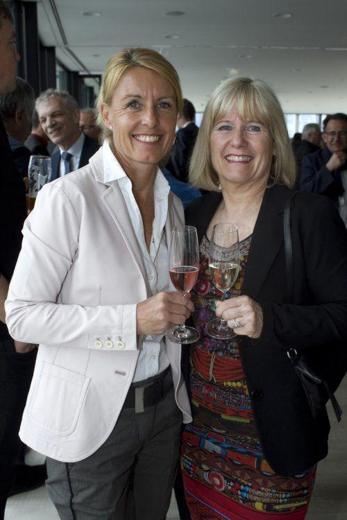 Petra Kreuzer (l.) und Brigitte Huber (Mohrenbrauerei).