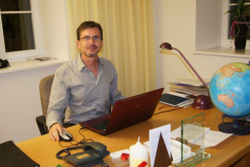Pfarrer Christian Stranz ist seit fast 20 Jahren Seelsorger in Dornbirn. eh