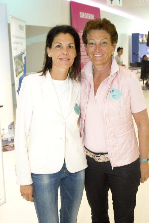 Pilar Zerpa-Thurnher (l.) und Beata Fässler.