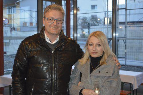 Rechtsanwalt Dr. Stefan Hämmerle mit Gattin.