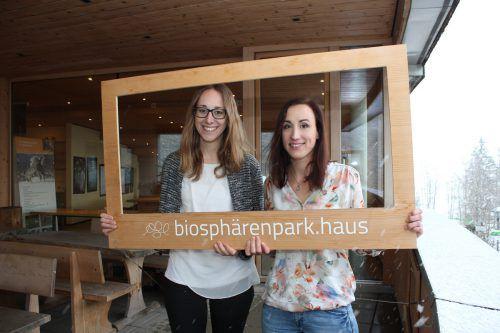 Regina Rusch und Anna Weber sorgen sich künftig um die Geschicke von REGIO und Biosphärenpark. vn/JLO