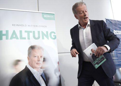 """Reinhold Mitterlehners Buch """"Haltung"""" hat innenpolitisch Staub aufgewirbelt. apa"""