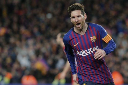 Rekordmann Lionel Messi steht vor seinem nächsten Titel mit Barcelona.AFP