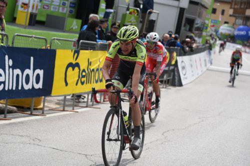 Roland Thalmann zeigte bei der Tour of the Alps mit Platz neun Qualitäten.Haumesser