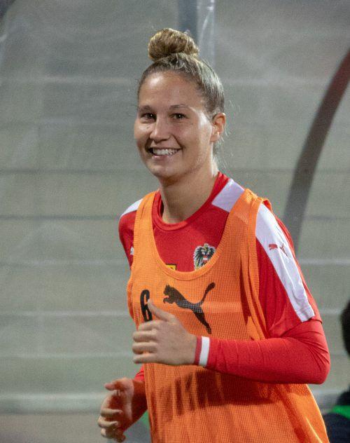 Sabrina Horvat könnte heute ihren zweiten Nationalteameinsatz bestreiten. Hepberger