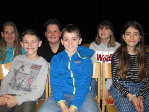 Schülerinnen und Schüler der 4. Klasse der VS Kirchdorf.vv