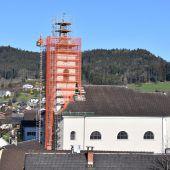 Satteinser Kirchturm wird saniert