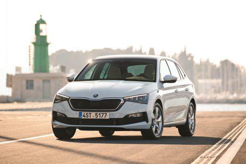 Škoda Scala: Der junge Kompakt-Tscheche ist ein Hatchback, ginge aber auch als Fastback durch.werk