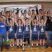 Bregenz und Nenzing triumphieren im Basketball-Schulcup
