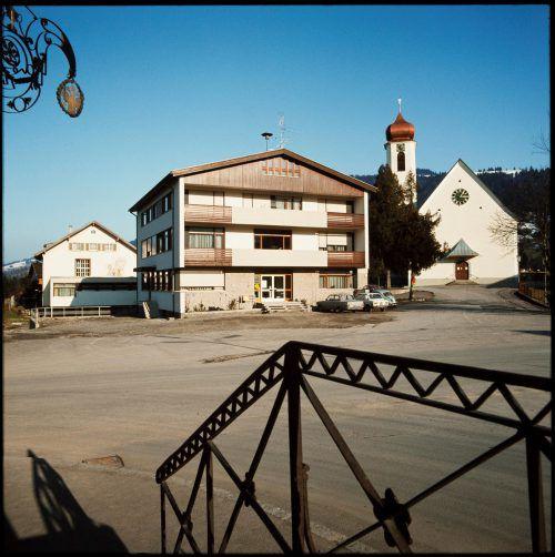 So sah das Gemeindeamt vor 44 Jahren aus.