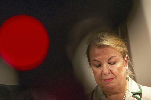 Sozialministerin Hartinger-Klein sparte ebenfalls nicht mit Kritik an den Ländern. APA