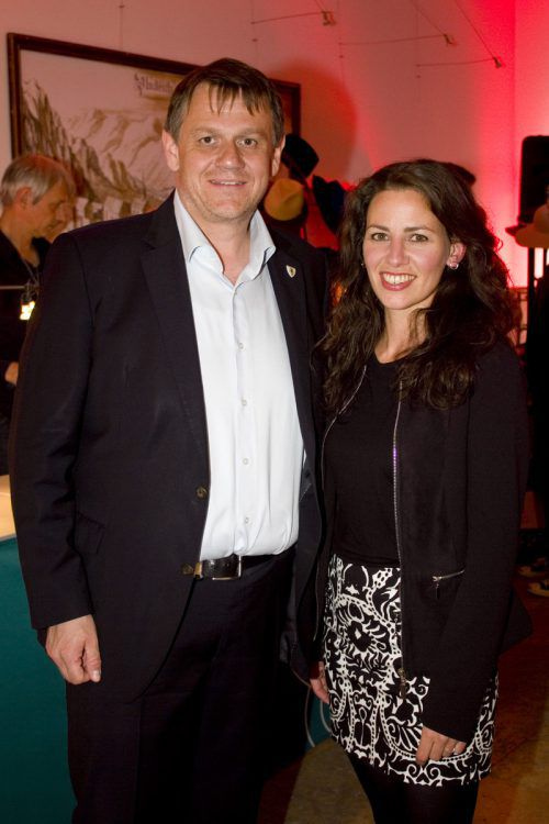 Stadtrat Christoph Thoma mit Organisatorin Daniela Beck.