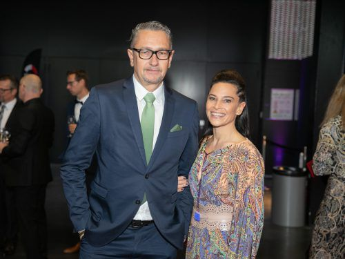 Stammgäste bei der Misswahl: Christoph und Sabrina Miessgang (Façona, Mango).