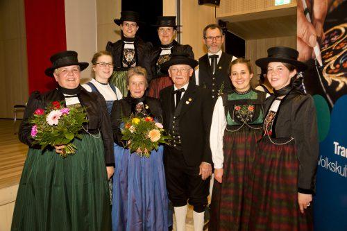 Standesgemäß trug man bei der Generalversammlung des Vorarlberger Landestrachtenverbands natürlich Tracht. Landestrachtenverband/Mathis